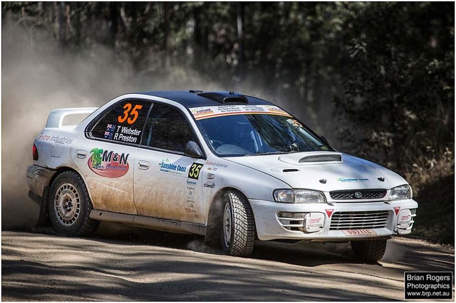International Rally Championship Queensland